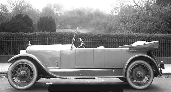 1920 touring car