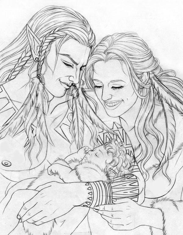 Elven Family