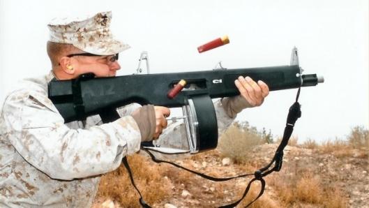 Aa 12 combat shotgun frag 12 automatic