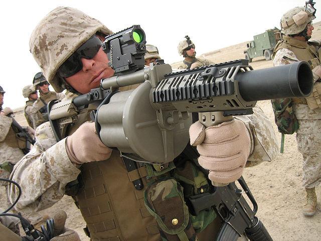 640px m 32 grenade launcher