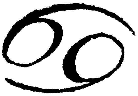 Cancer symbol zodiac 6812