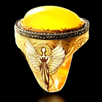 Dawnflower ring