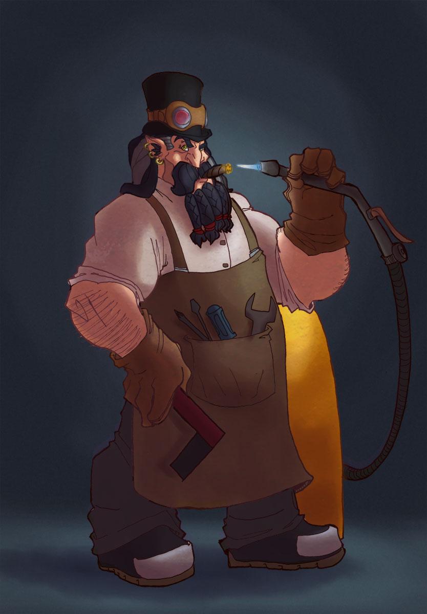 Dwarven inventor