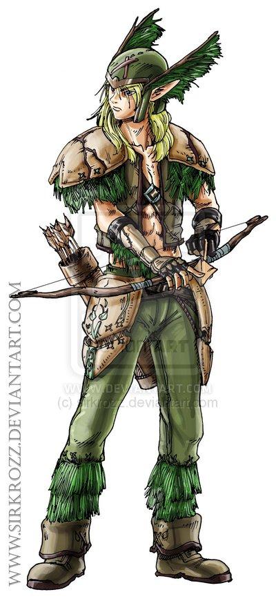 Elf warrior by sirkrozz