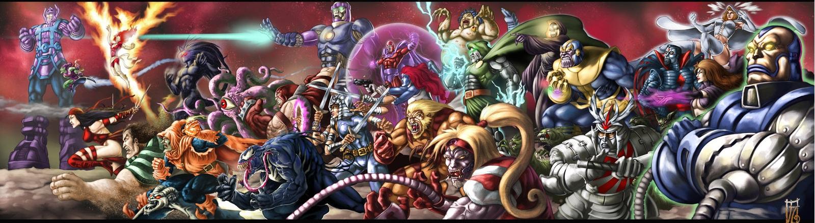 Super villains by earache j d4b5ul7