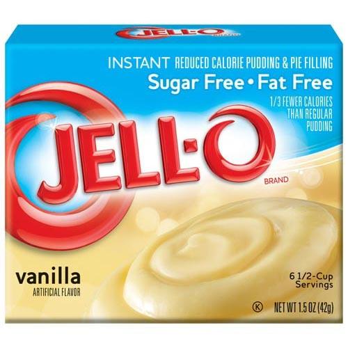 Jello vanilla
