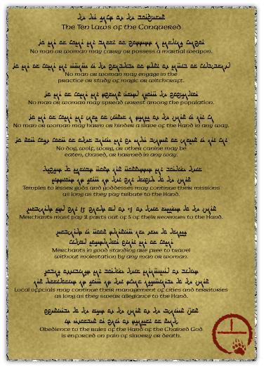 Ten laws