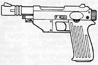 Ssk 7 heavy blaster pistol