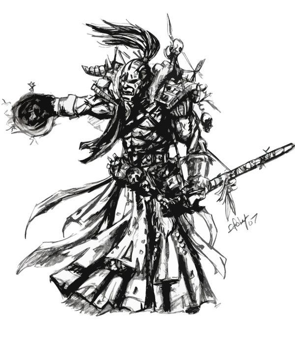Orc warlock by daniel poley