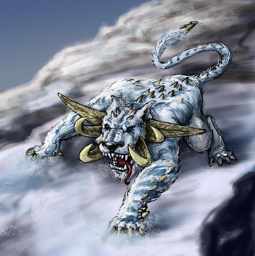 Artic monster by andrew tober