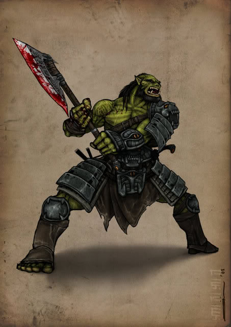 Orc champion by bukulima