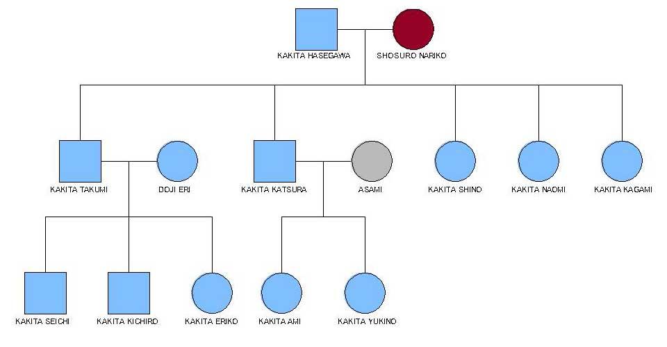House hasegawa family tree