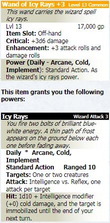 Wand of icy rays 3