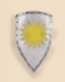 Crusader shield 60x75