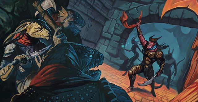 Tiefling vs. Dragonborn