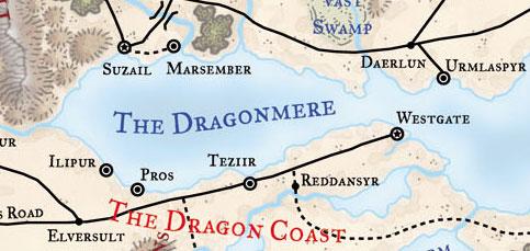 Dragonmere map 3e