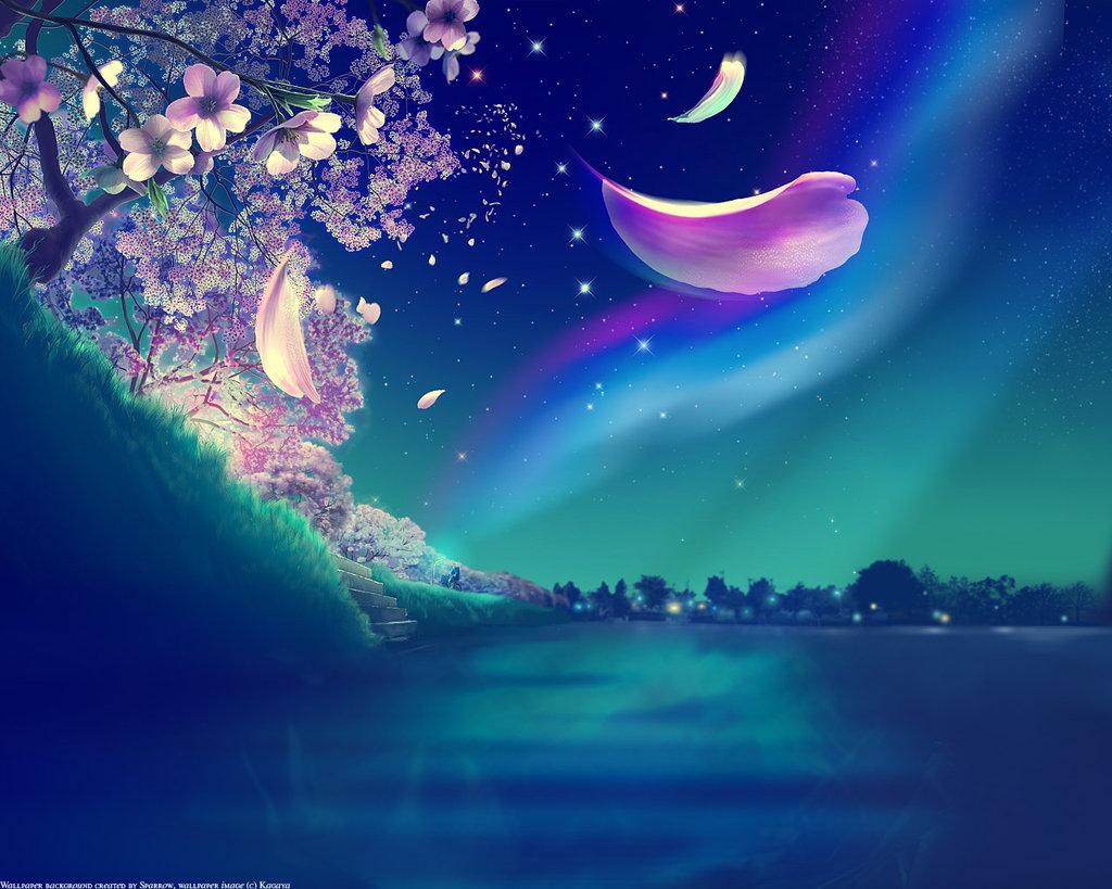 Night sky by kirangelo