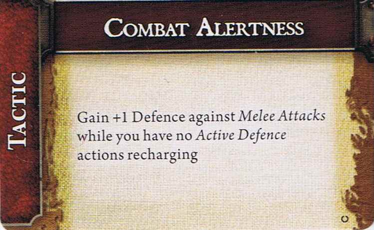 Combat alertness