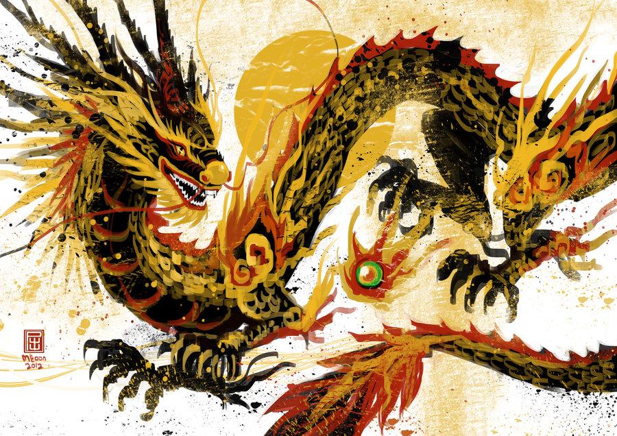 Dragon year by meoon d4l1tbu