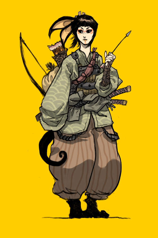 Oriental ranger by oulfr d4fe0vb