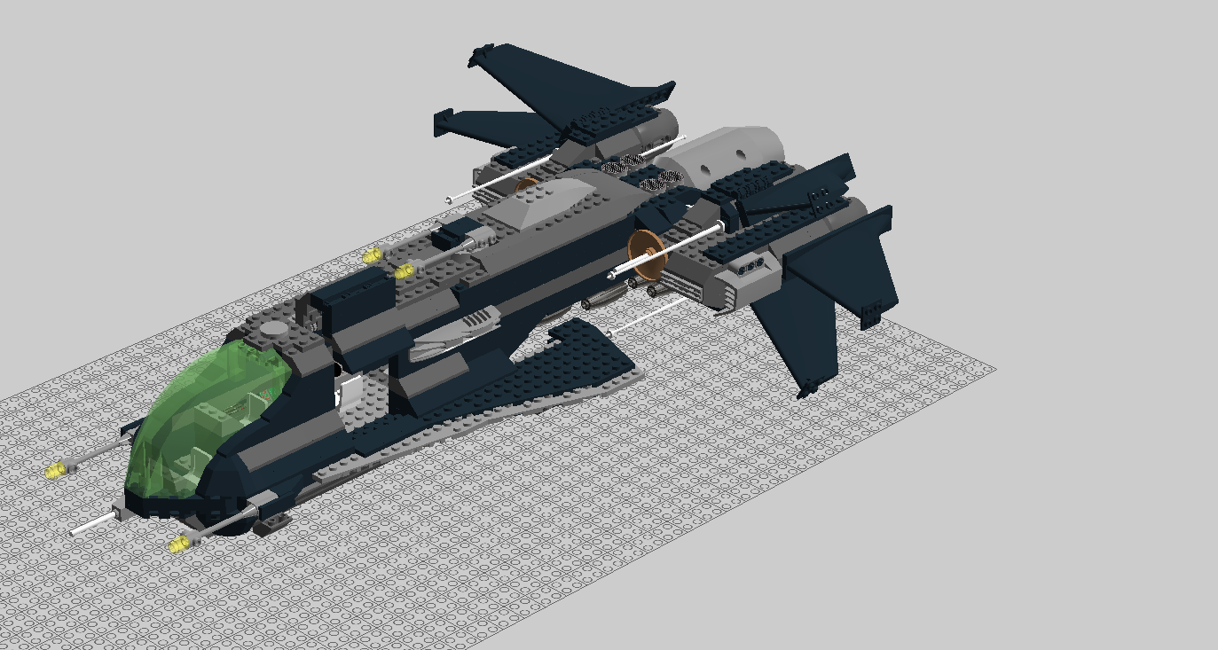 Guild recon strategic bomber gladius   refit