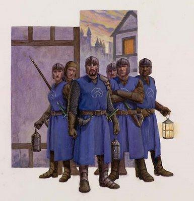 City watchmen