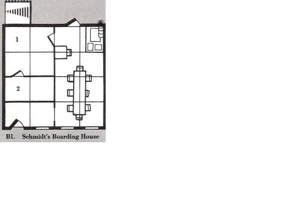 Schmidts boarding house b1 level 1