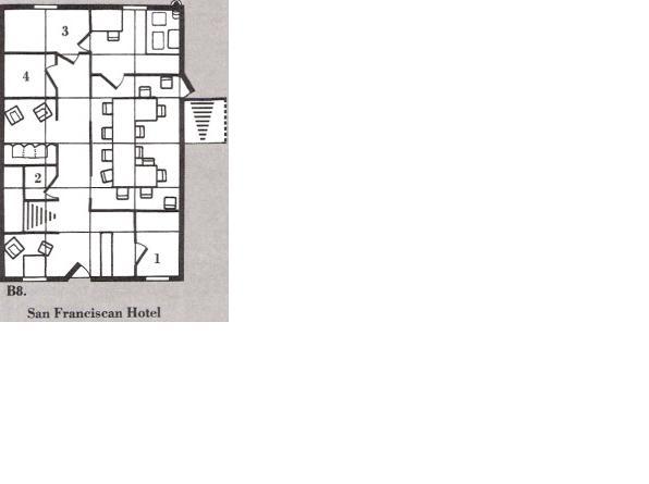 San franciscan hotel b8 level 1