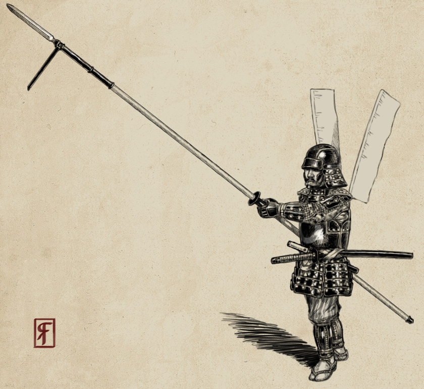Yari samurai by revoltingfriendship d3dsbfv