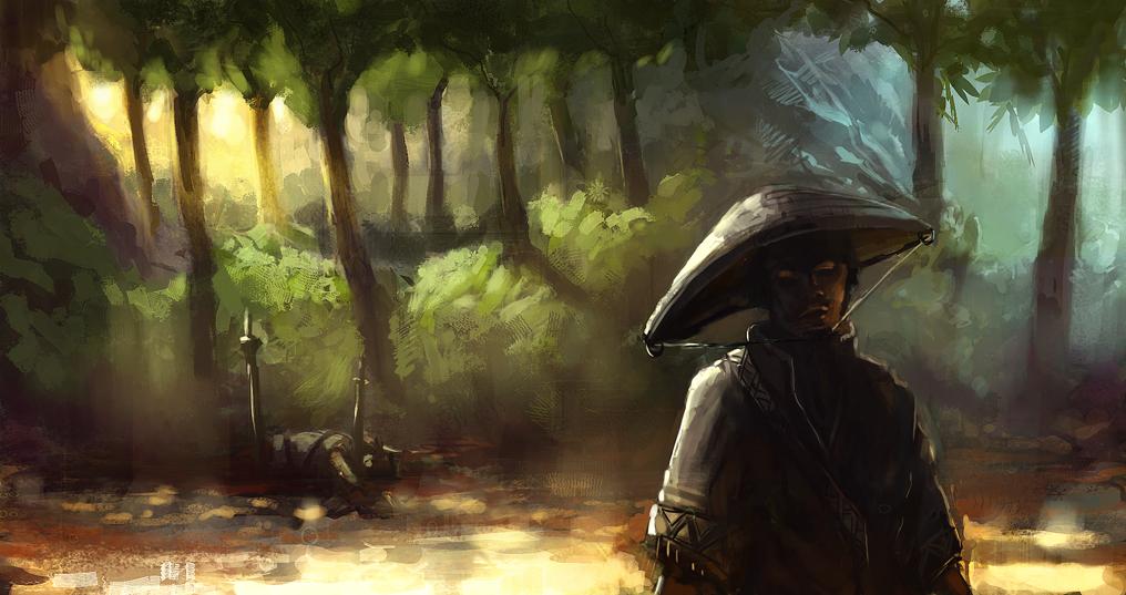 Samurai by onestepart d3d0qhy