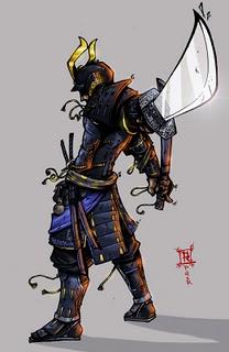 Samurai manga