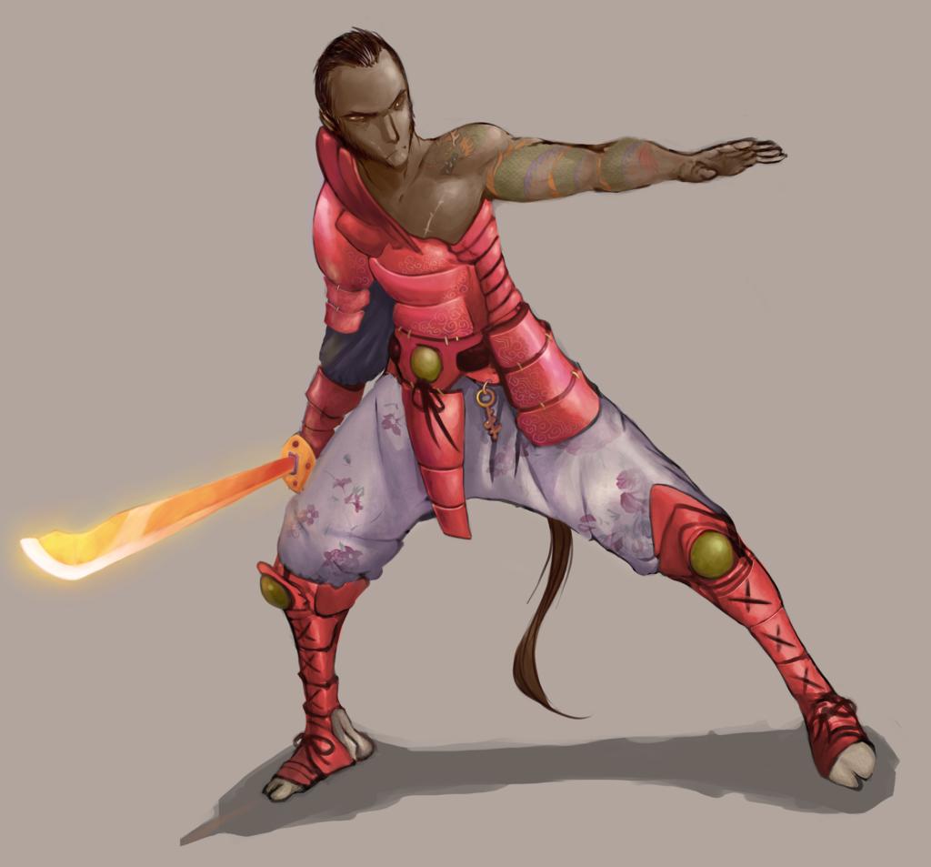 Magus samurai