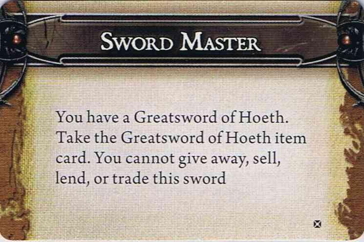 Sword master small