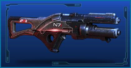 Gun n7 valyrie