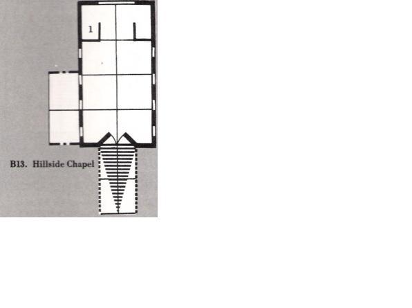 The hillside chapel b13