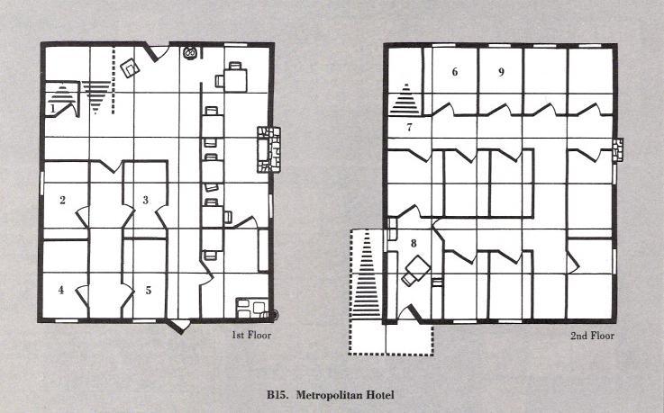 Metropolitan hotel b15