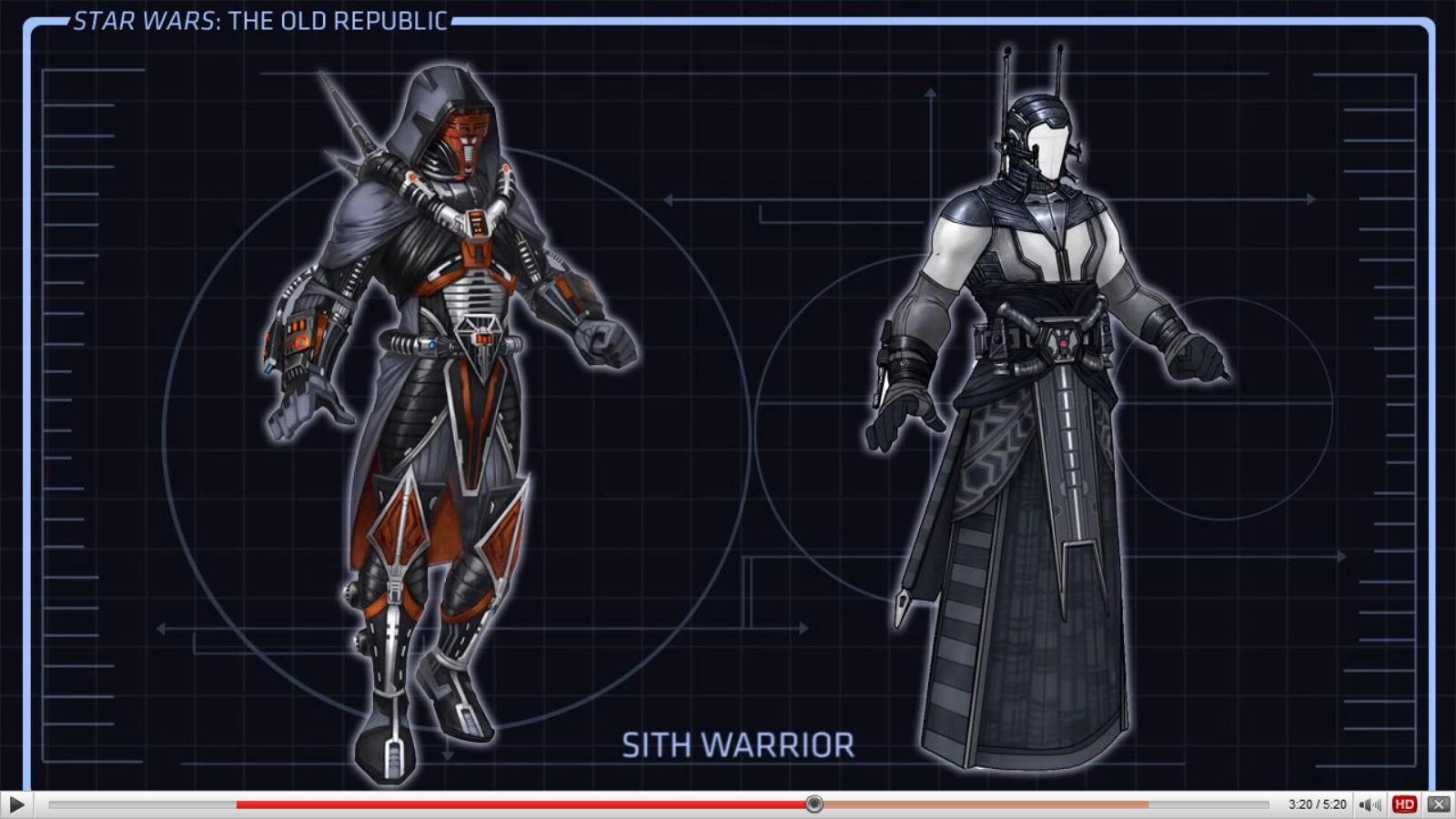 Sith warrior armor