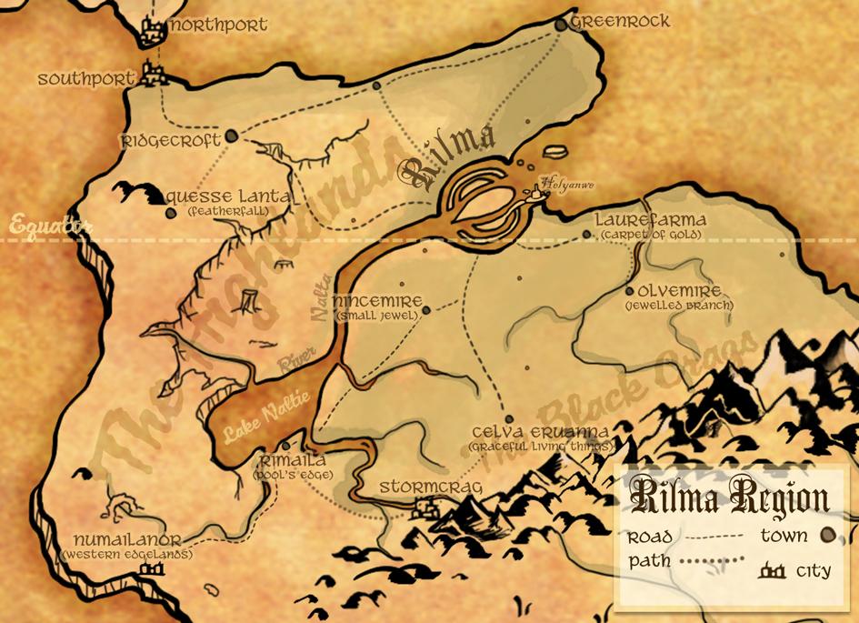 Laima map rilma area