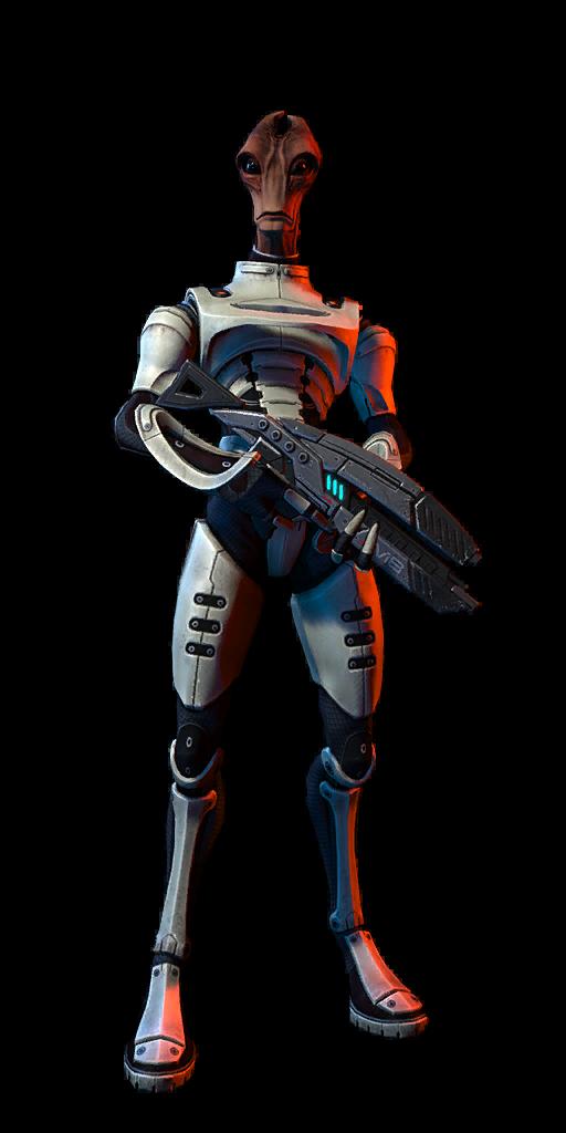 Mass Effect  Liara Vanguard Build