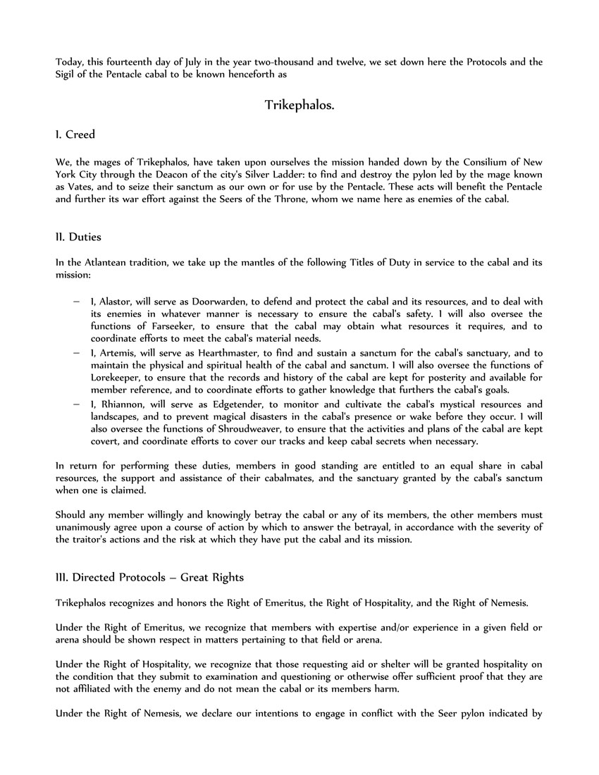 Trikephalos protocols1