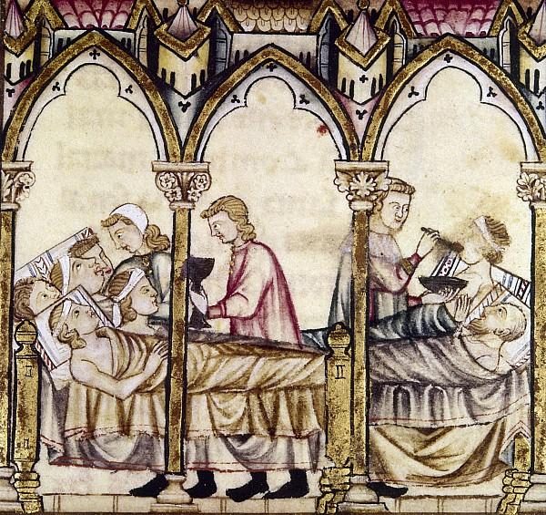 Spain medieval hospital granger
