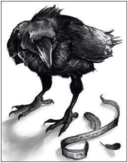 Messenger Raven