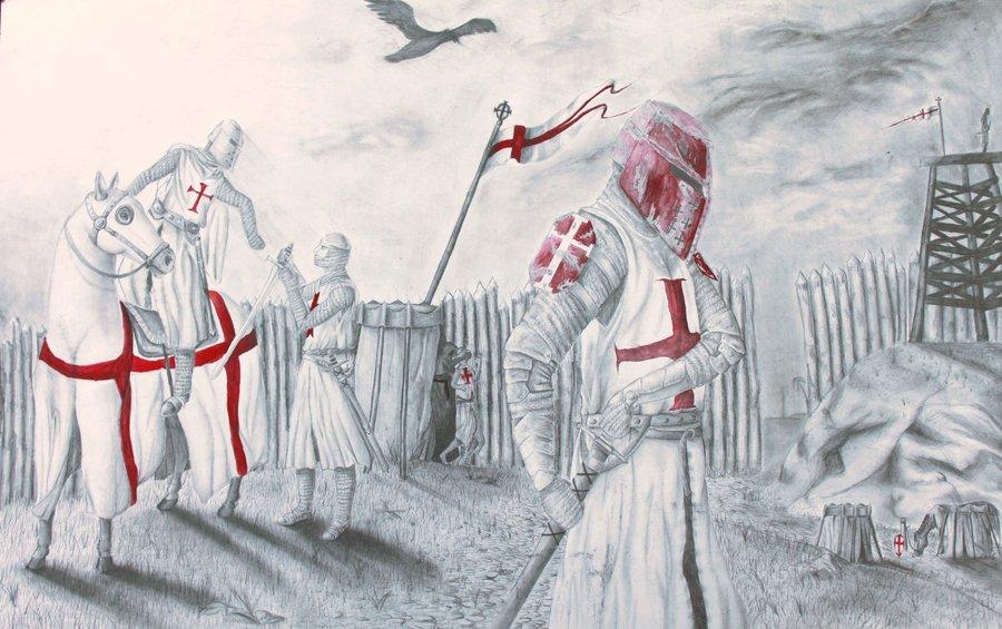 Templar encampment by gothicalchemist7x d4z0c5v