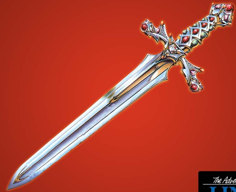 The legend of zelda sword