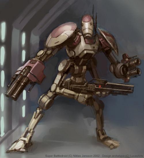 Star forge war droids