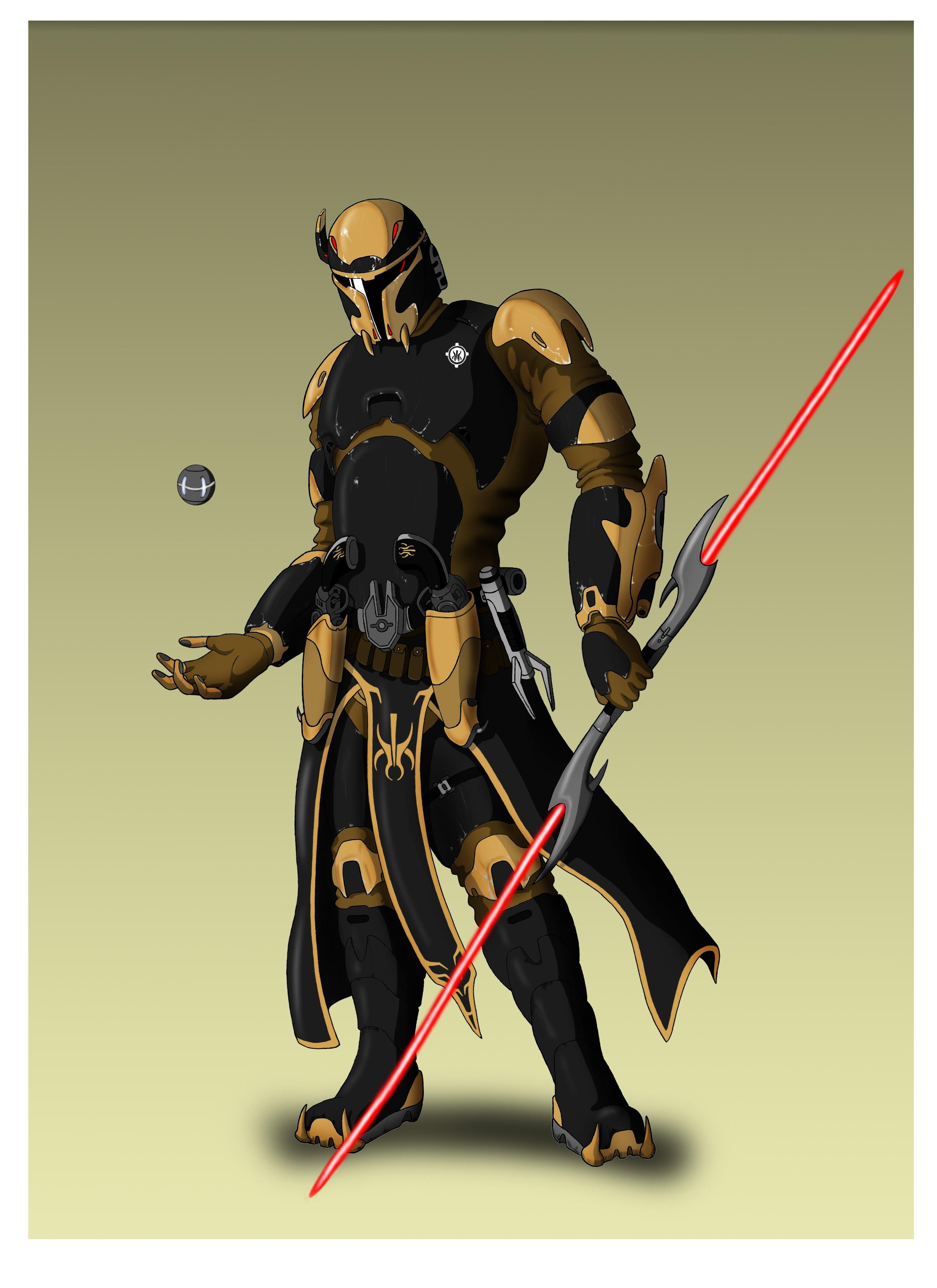 Madalorian sith armor