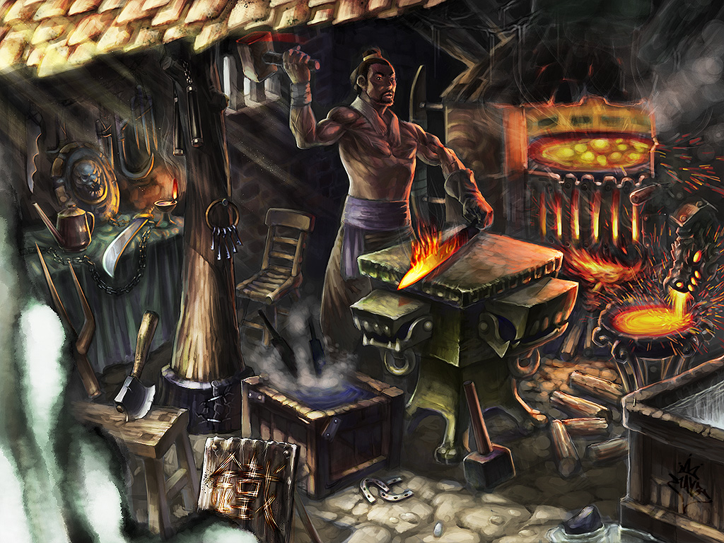 Blacksmith by ilison