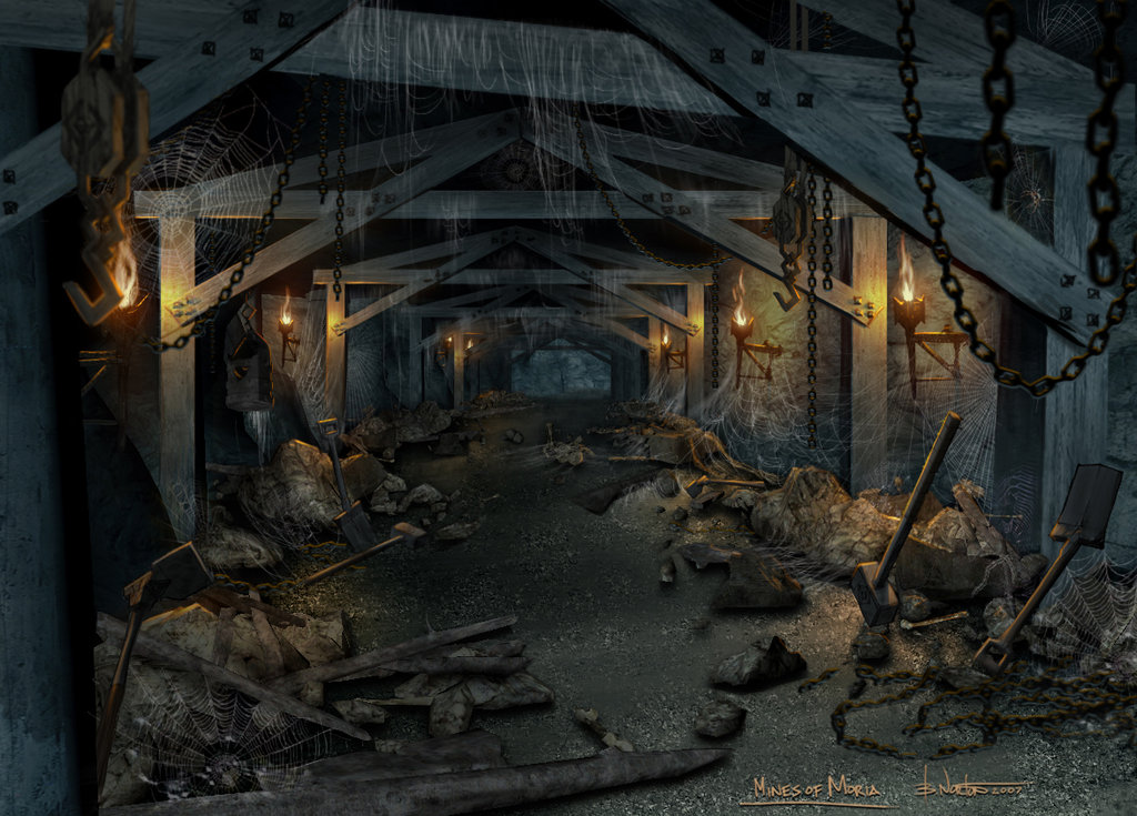 The mines of moria by nortenyo