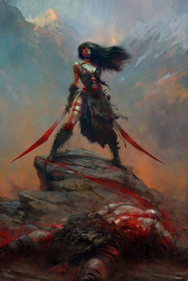 Barbarian w