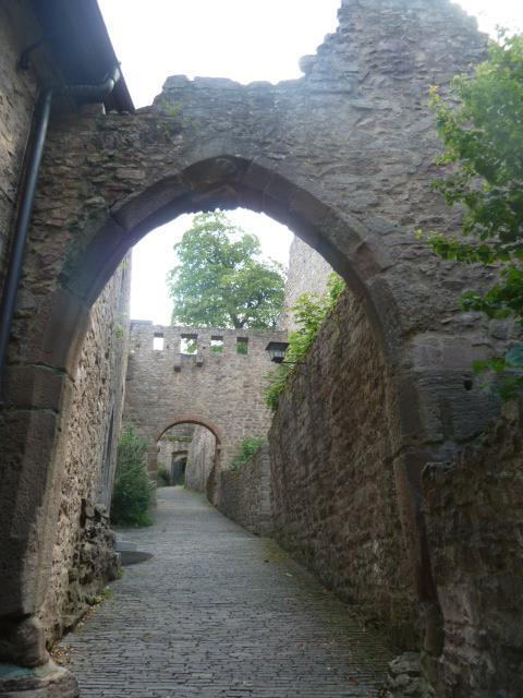 My favorite castle ruins in germany l  tx cj g